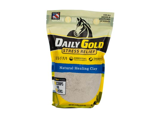 Daily Gold pouch white