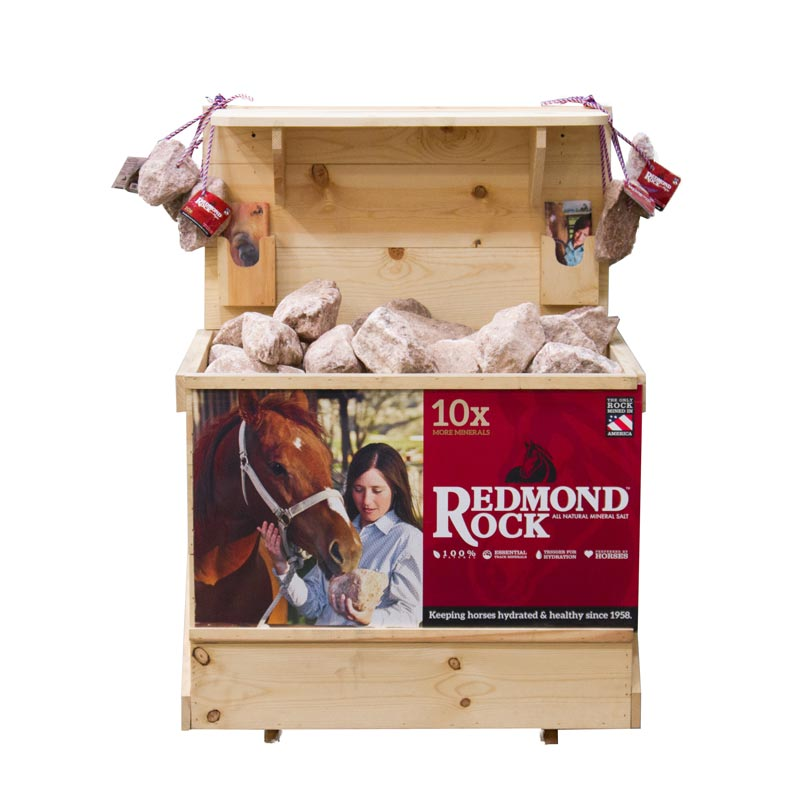 Half crate wood