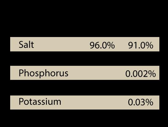Redmond Rock minerals